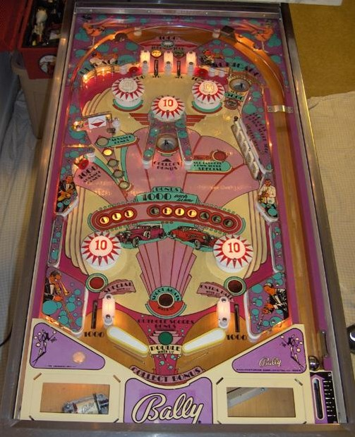 Pete S Pinball Bally Old Chicago Pictures And Information
